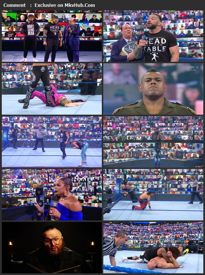 WWE Friday Night SmackDown 14th May 2021 720p WEBRip x264 750MB Download