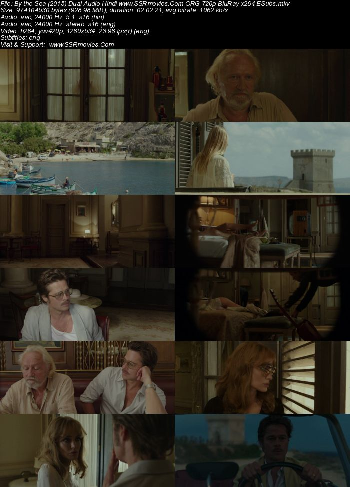 By the Sea (2015) Dual Audio Hindi 720p BluRay x264 900MB Full Movie Download