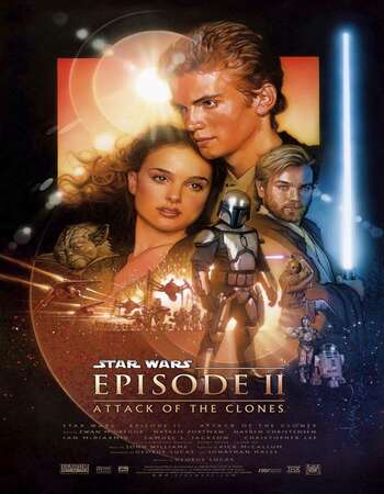Star Wars: Episode II – Attack of the Clones 2002 English 720p BluRay 1GB ESubs