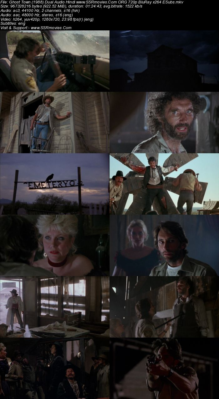 Ghost Town (1988) Dual Audio Hindi 480p BluRay x264 300MB ESubs Full Movie Download