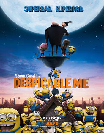 Despicable Me (2010) Dual Audio Hindi 720p BluRay x264 950MB Full Movie Download