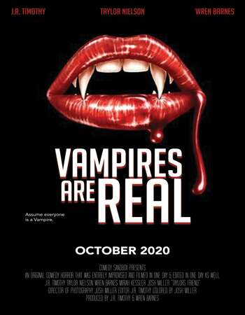Vampires Are Real 2021 English 720p WEB-DL 900MB Download
