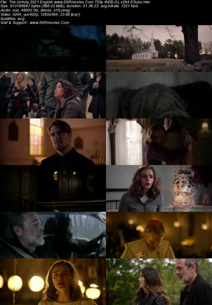 The Unholy (2021) English 720p WEB-DL x264 850MB Full Movie Download