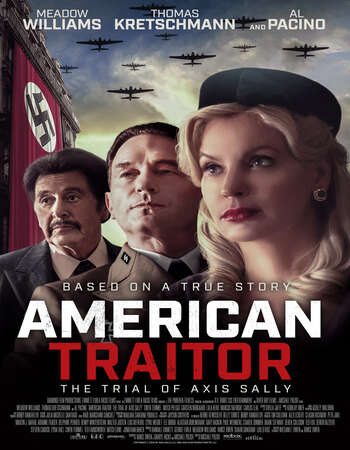 American Traitor The Trial of Axis Sally 2021 English 720p WEB-DL 950MB Download