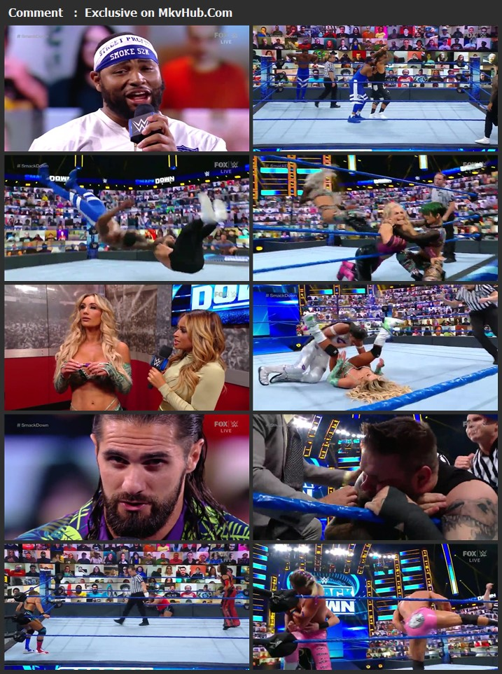 WWE Friday Night SmackDown 28 May 2021 720p WEBRip x264 750MB Download