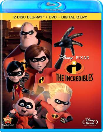 The Incredibles (2004) Dual Audio Hindi 720p BluRay x264 750MB Full Movie Download