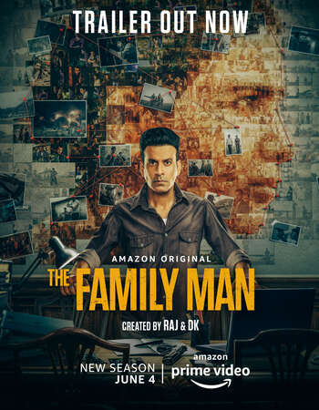 The Family Man (2021) S02 Complete Hindi 720p WEB-DL x264 2.2GB ESubs