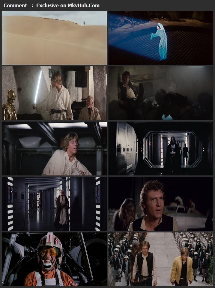 Star Wars: Episode IV: A New Hope - Deleted Scenes 2011 English 720p BluRay 1GB Download