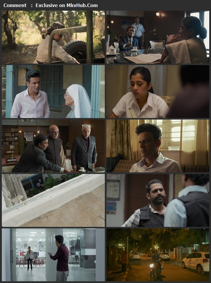The Family Man (2021) S02 Complete Hindi 720p WEB-DL x264 2.2GB ESubs Download