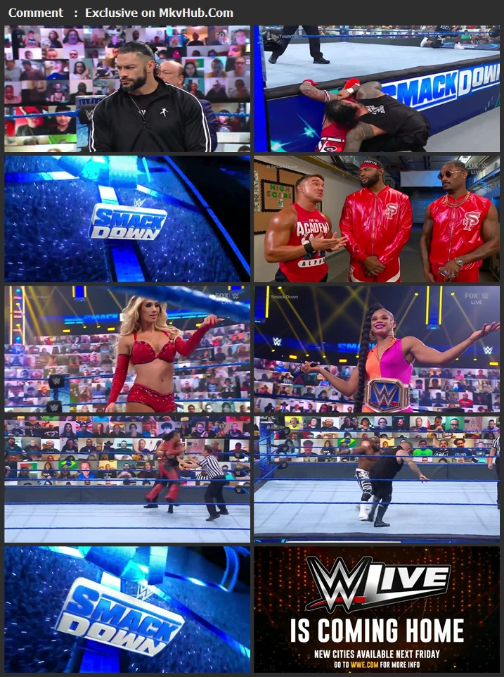 WWE Friday Night SmackDown 4th June 2021 720p WEBRip x264 750MB Download