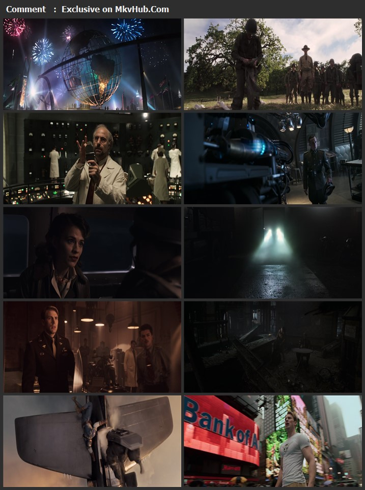 Captain America: The First Avenger 2011 English 720p BluRay 1GB Download