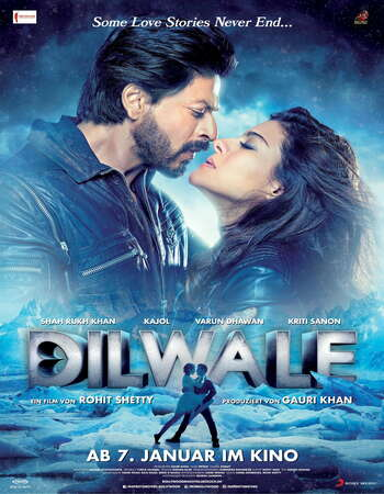 Dilwale (2015) Hindi 720p WEB-DL x264 1.1GB Full Movie Download