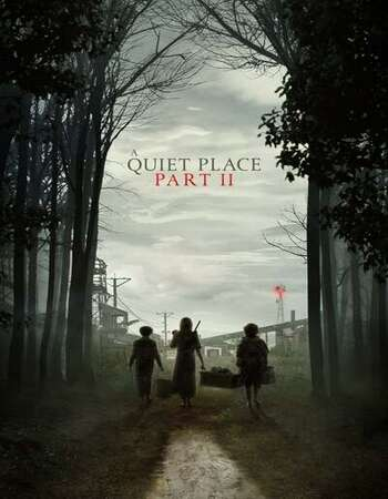 A Quiet Place Part II 2021 English 720p HDRip 800MB ESubs