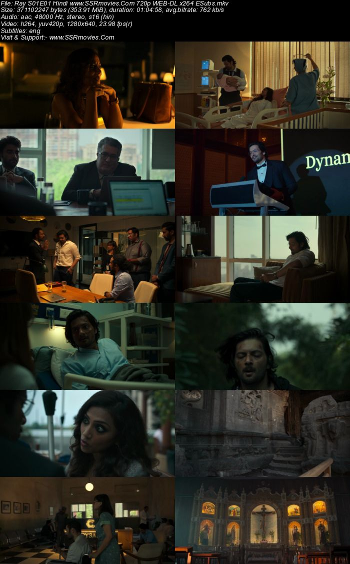 Ray (2021) S01 Complete Hindi 720p WEB-DL x264 1.2GB ESubs Download