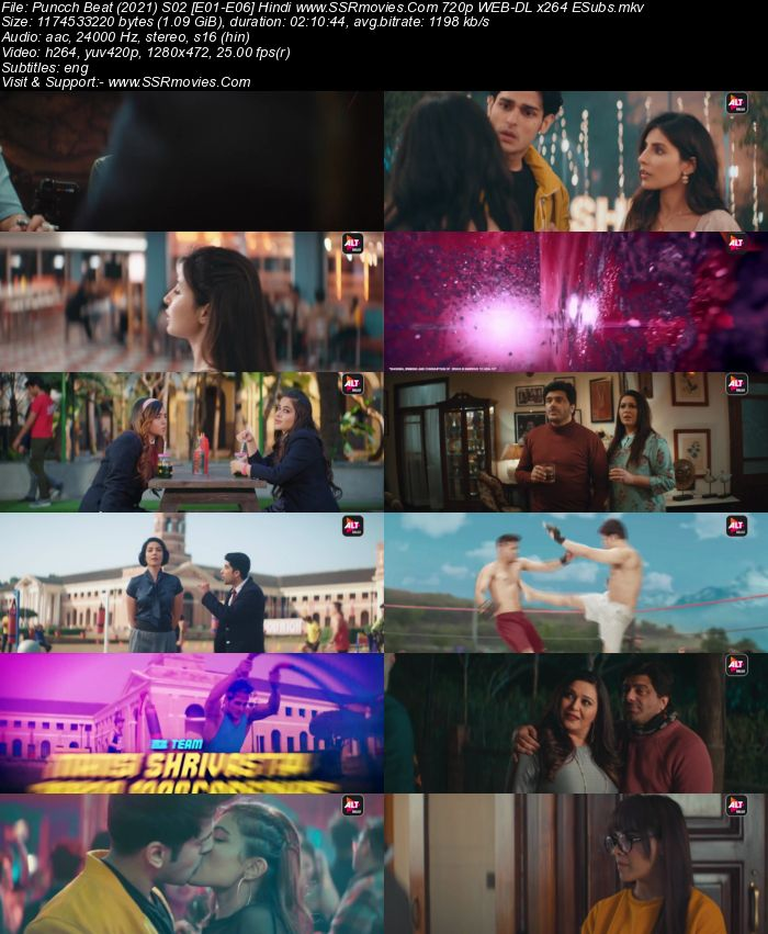 Puncch Beat (2021) S02 Complete Hindi 720p WEB-DL x264 2.4GB ESubs Download