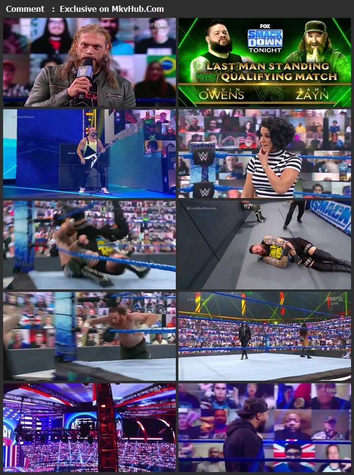 WWE Friday Night SmackDown 2nd July 2021 720p WEBRip 750MB Download