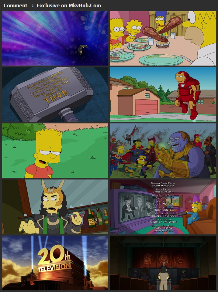 The Good, the Bart, and the Loki 2021 English 720p WEB-DL 100MB Download