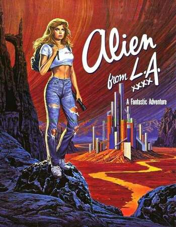 Alien from L.A. 1988 English 720p BluRay 1GB Download
