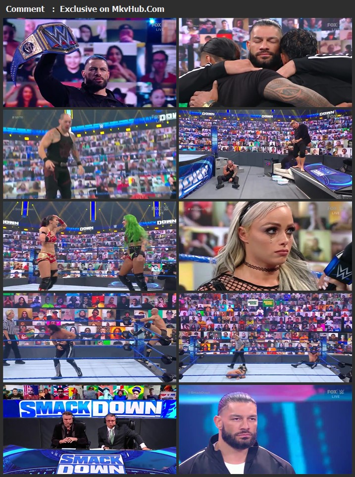WWE Friday Night SmackDown 9th July 2021 720p WEBRip x264 750MB Download