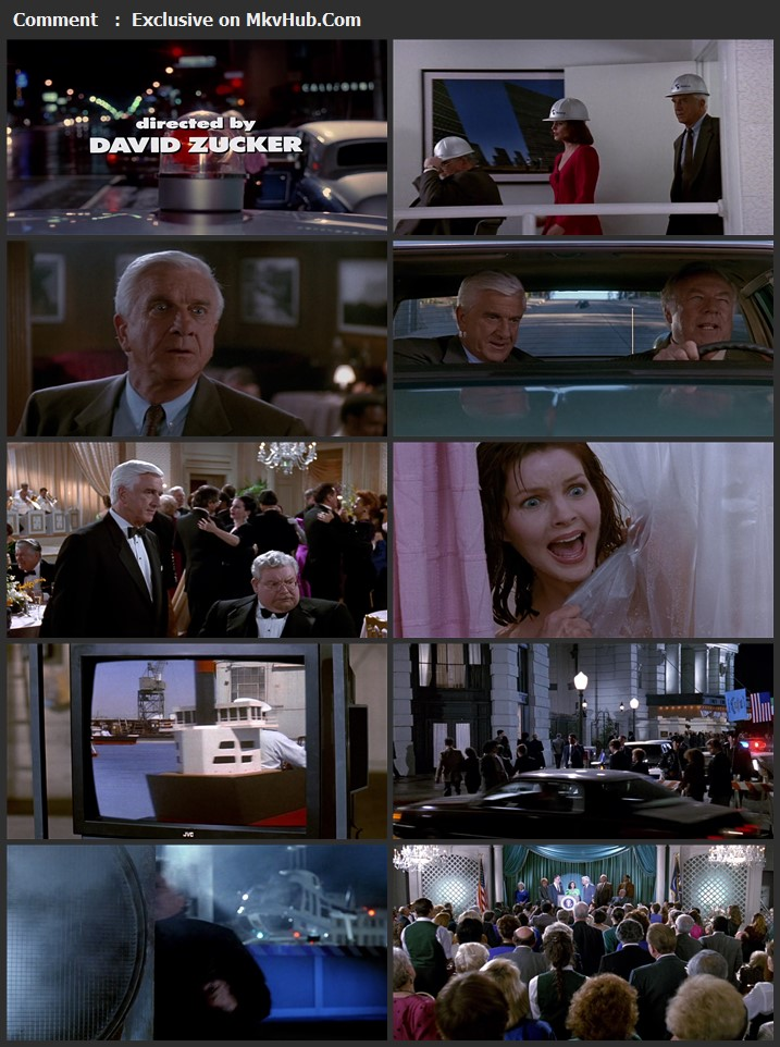 The Naked Gun 2½: The Smell of Fear 1991 English 720p BluRay 1GB Download