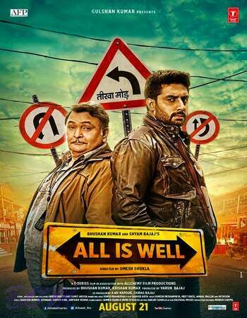 All Is Well (2015) Hindi 720p WEB-DL x264 1.1GB Full Movie Download