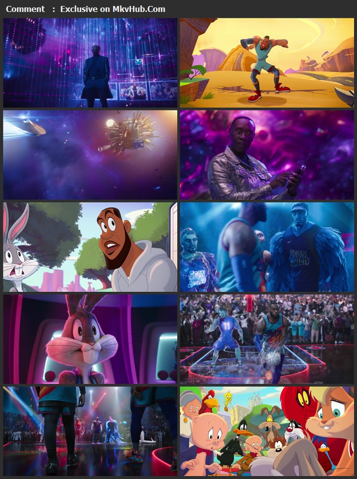 Space Jam: A New Legacy 2021 English 720p WEB-DL 1GB Download