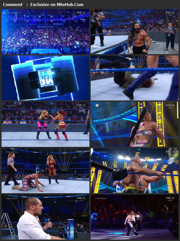 WWE Friday Night SmackDown 16th July 2021 720p WEBRip x264 750MB Download
