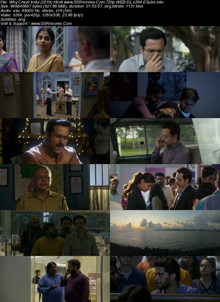Why Cheat India (2019) Hindi 720p WEB-DL x264 950MB Full Movie Download