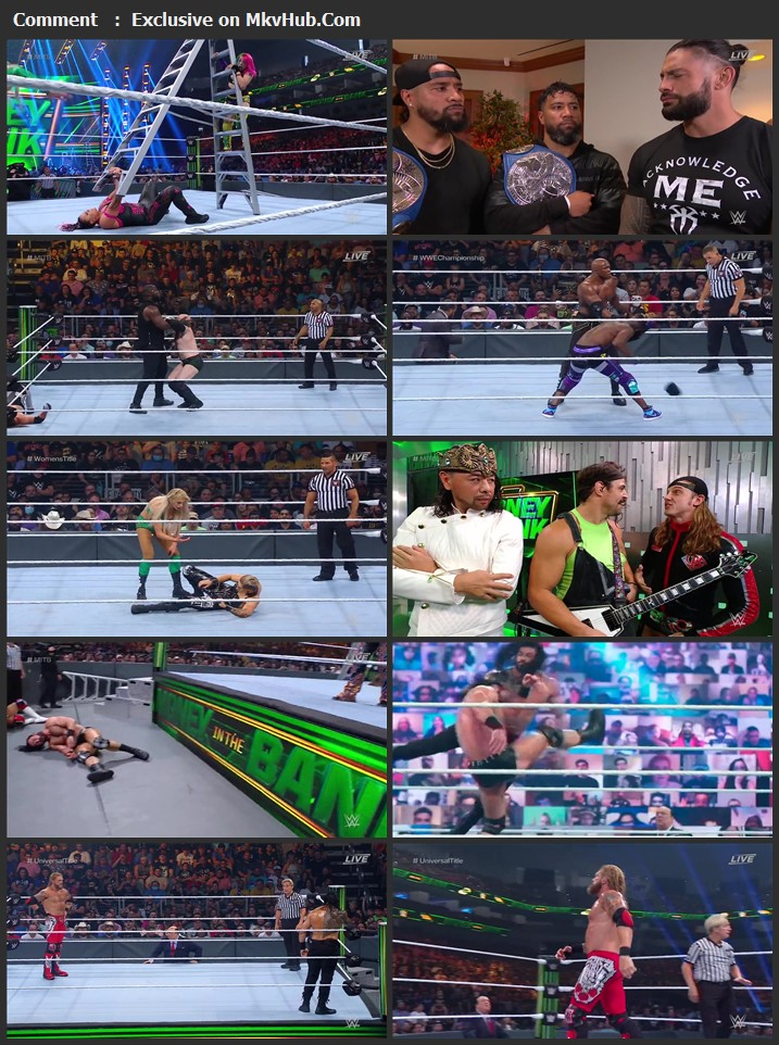 WWE Money in the Bank 2021 PPV 720p WEBRip x264 1.8GB Download