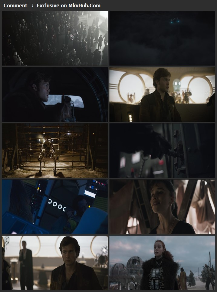Solo: A Star Wars Story 2018 English 720p BluRay 1GB Download