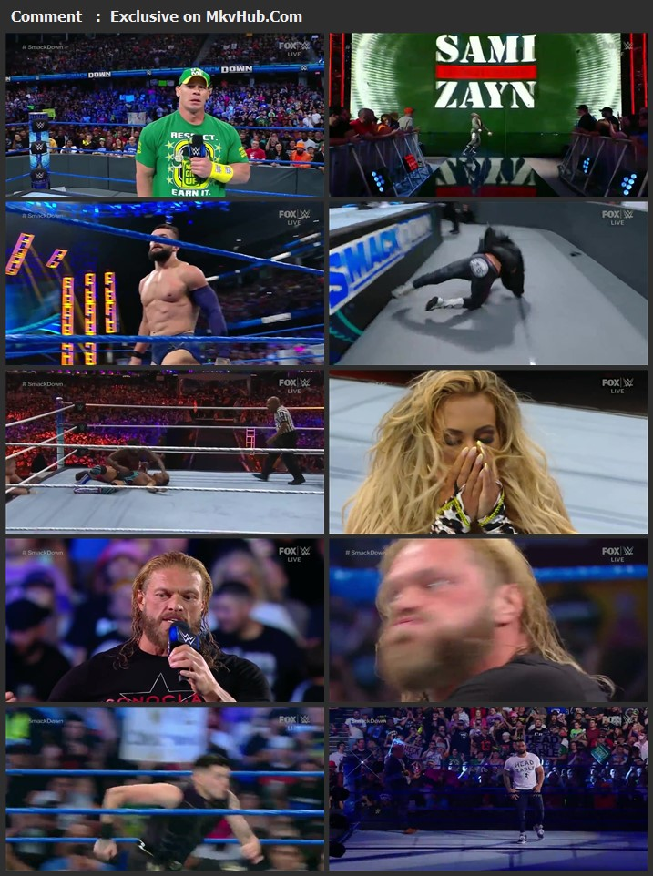 WWE Friday Night SmackDown 23rd July 2021 720p WEBRip x264 750MB Download