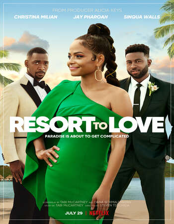 Resort to Love 2021 English 720p WEB-DL 900MB MSubs