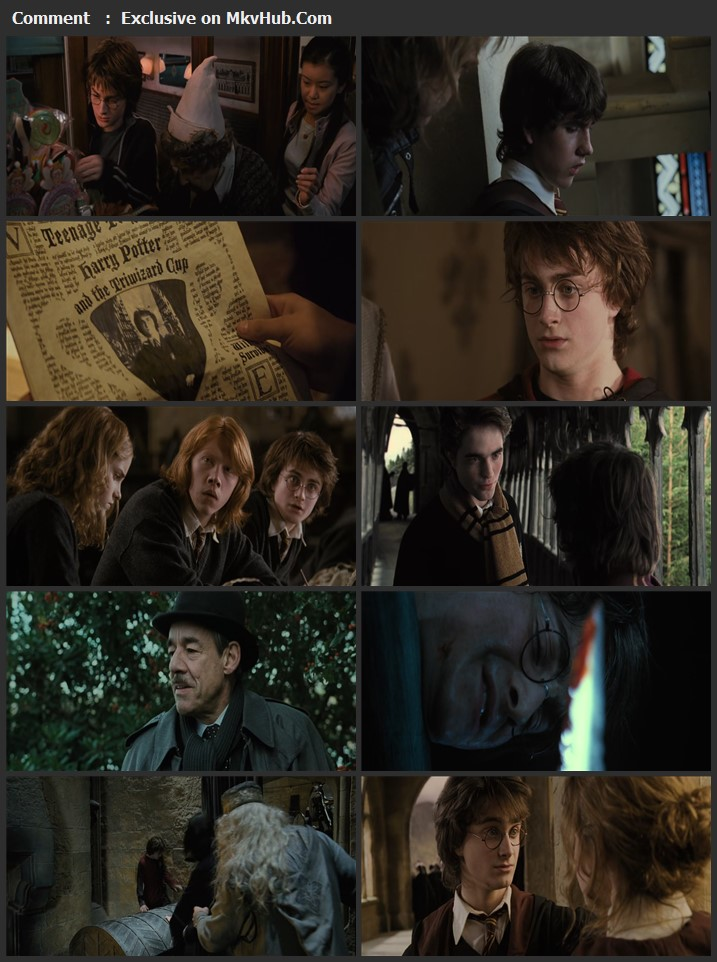 Harry Potter and the Goblet of Fire 2005 English 720p BluRay 1GB Download