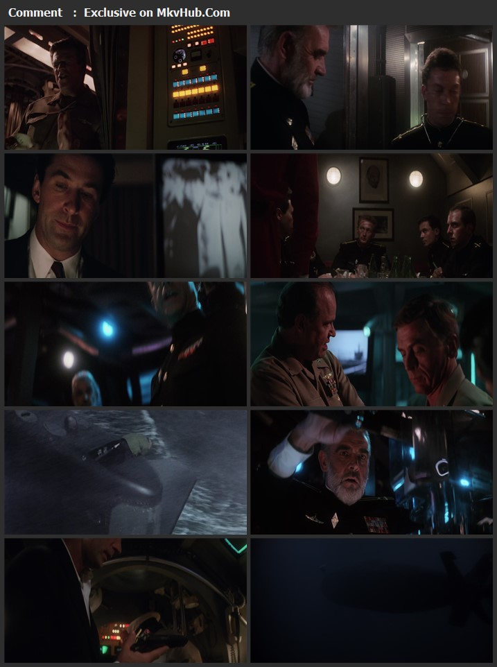 The Hunt for Red October 1990 English 720p BluRay 1GB Download