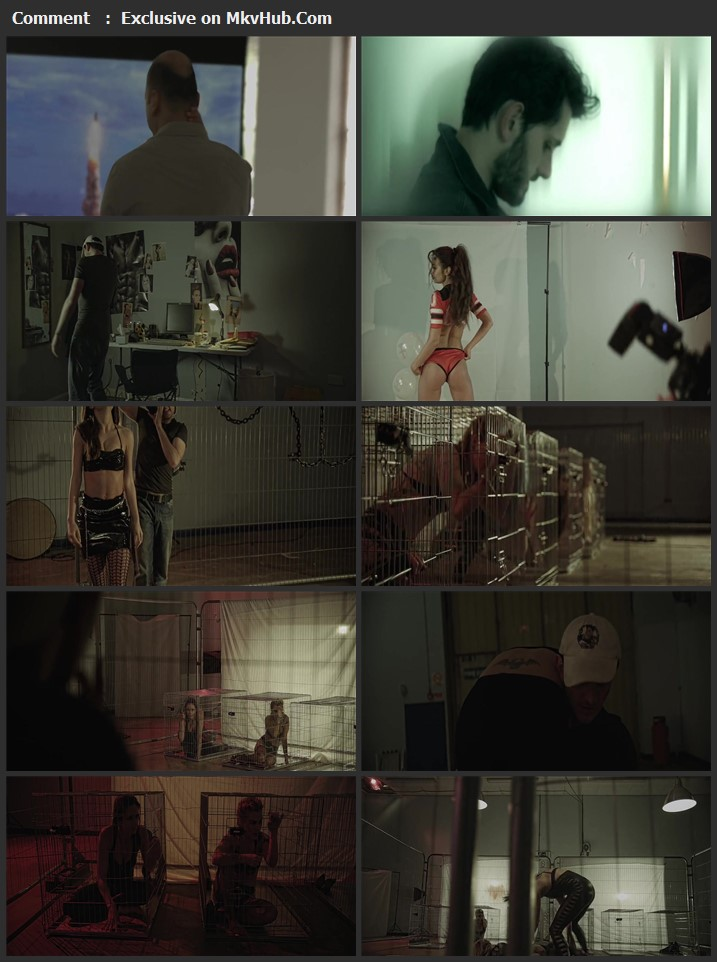 Six Hot Chicks in a Warehouse 2017 English 720p WEB-DL 800MB Download