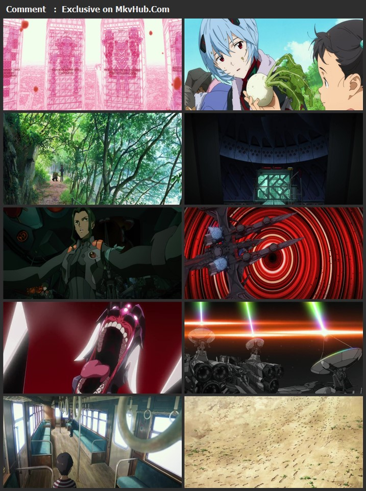 Evangelion 3.0+1.01 Thrice Upon a Time 2021 Japanese 720p WEB-DL 1.3GB Download
