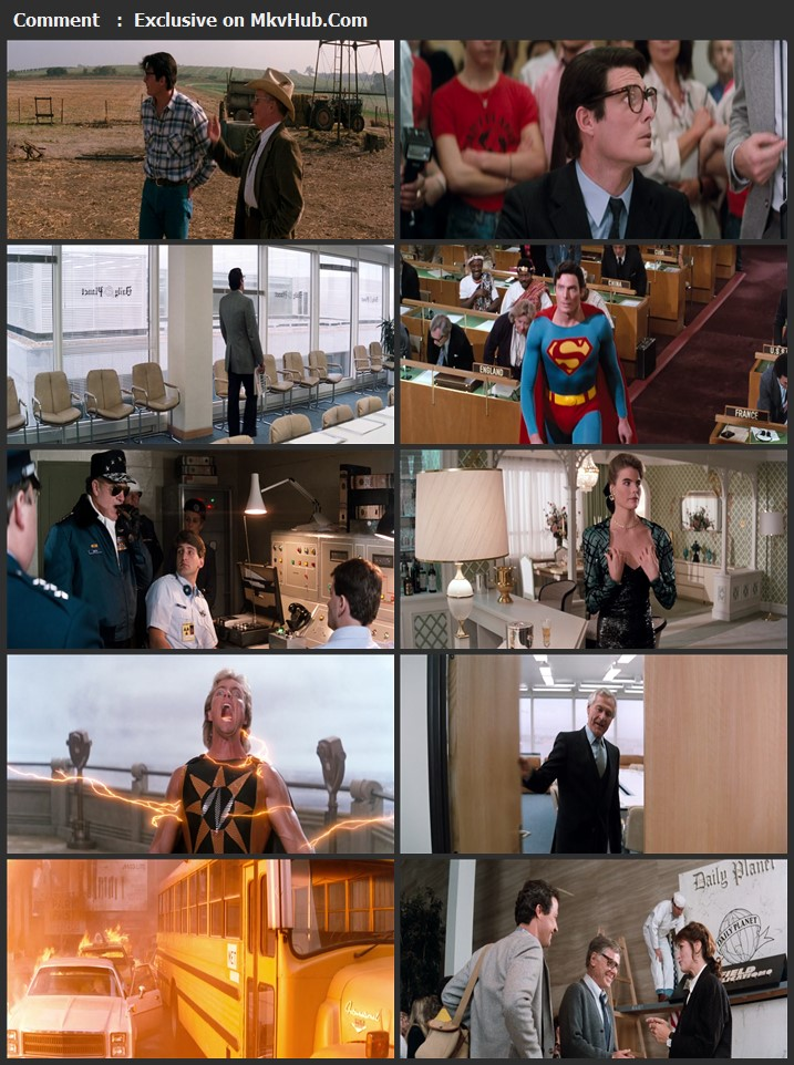 Superman IV: The Quest for Peace 1987 English 720p BluRay 1GB Download