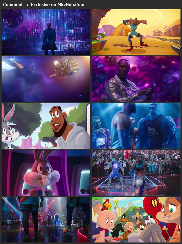 Space Jam A New Legacy 2021 Dual Audio [Hindi-English] 720p WEB-DL 1GB Download