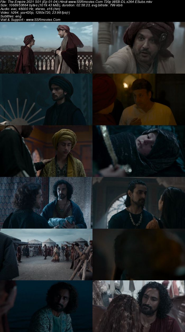 The Empire 2021 S01 Complete Hindi 720p WEB-DL x264 1.9GB ESubs Download