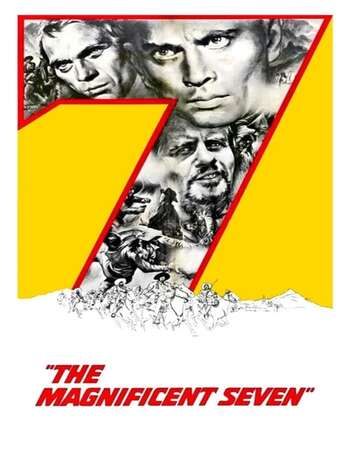 The Magnificent Seven 1960 English 720p BluRay 1GB ESubs