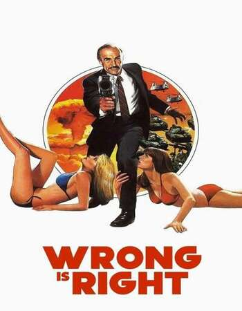 Wrong Is Right 1982 English 720p BluRay 1GB ESubs