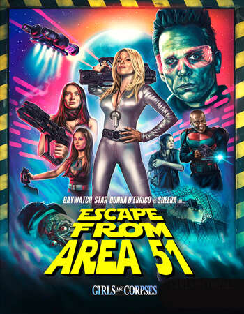Escape from Area 51 2021 English 720p WEB-DL 700MB Download