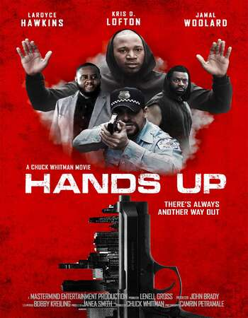 Hands Up 2021 English 720p WEB-DL 700MB Download