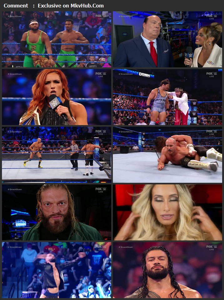 WWE Friday Night SmackDown 3rd September 2021 720p WEBRip x264 800MB Download