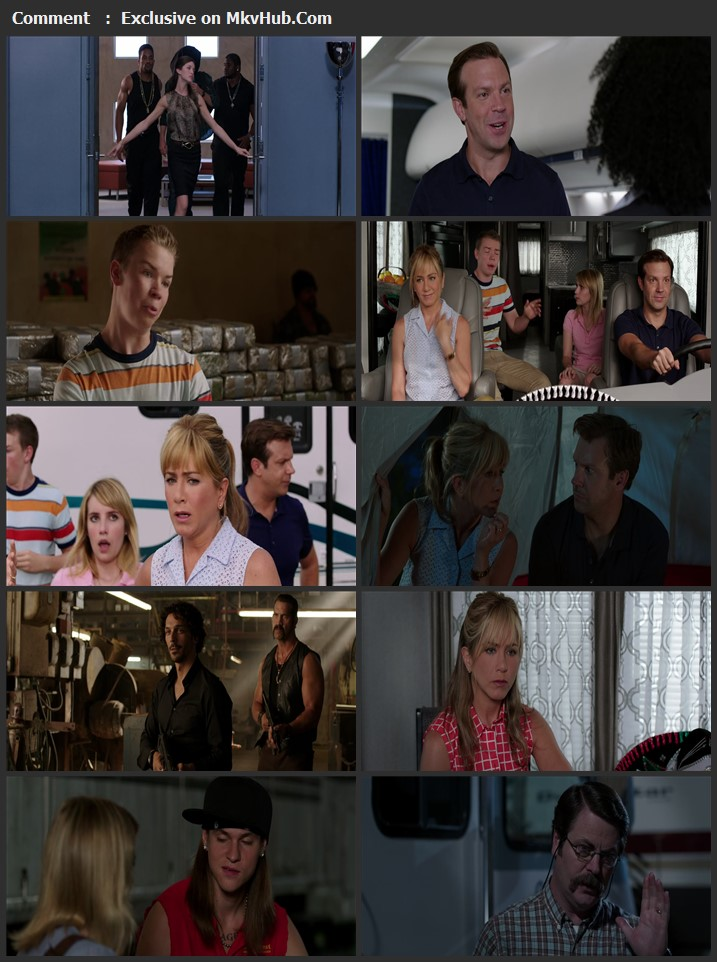We're the Millers 2013 English 720p BluRay 1GB Download