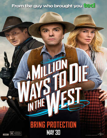 A Million Ways to Die in the West 2014 English 720p BluRay 1GB ESubs