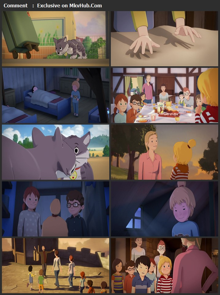 Conni and the Cat 2021 English 720p WEB-DL 700MB Download
