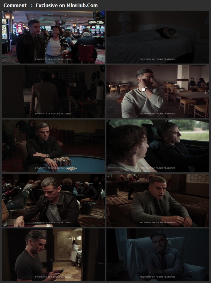 The Card Counter 2021 English 720p WEBSCREENER 1GB Download