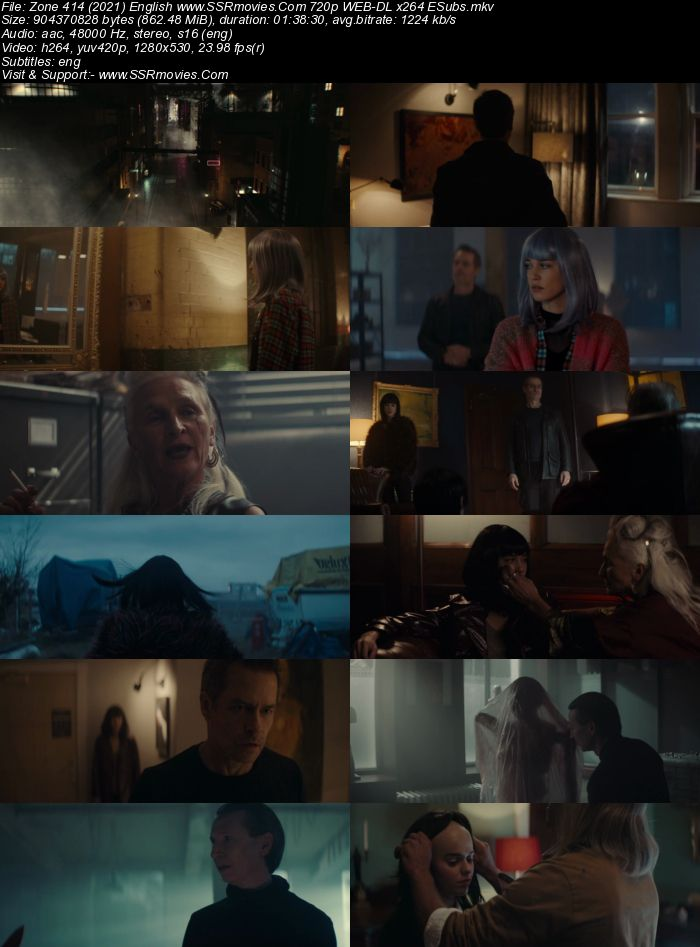 Zone 414 (2021) English 720p WEB-DL x264 850MB Full Movie Download