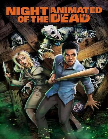Night of the Animated Dead 2021 English 720p WEB-DL 600MB ESubs